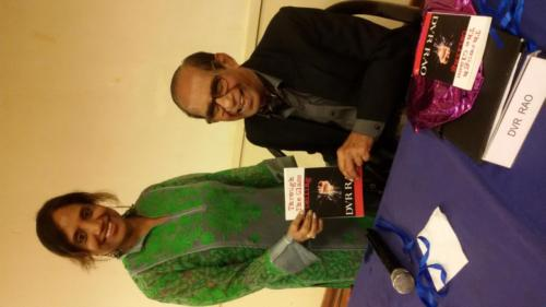 Launch of DVR Rao's 2nd book Through the Glass Ceiling