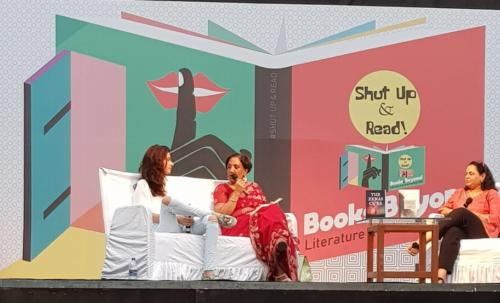 Books and Beyond LitFest by #ShutUp&ReadMarch, 2018